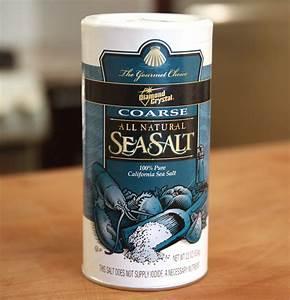 Sea salt (Badasogeum) - Korean cooking ingredients ...