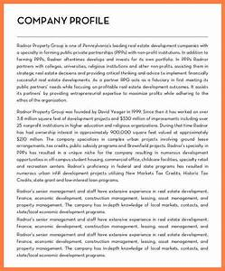 5 sample construction company profile company letterhead With real estate company profile template