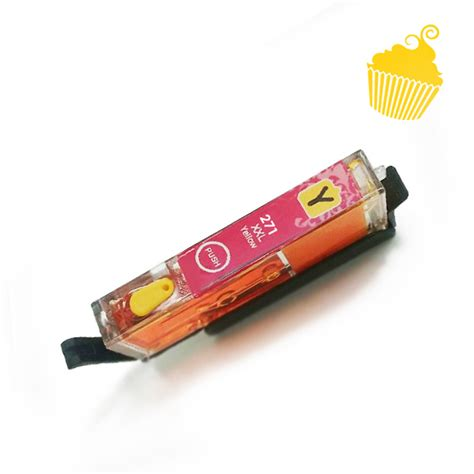 canon refillable edible ink cartridges  yellow