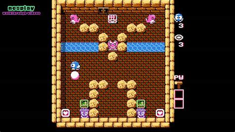 Adventures Of Lolo Walkthrough [floor 10-3]