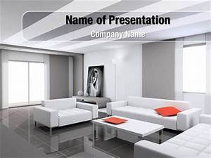 interior design of living room powerpoint templates With interior design office ppt