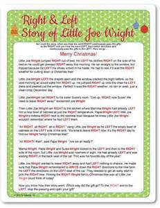 printable right left little joe wright funsational com thirty one party ideas fun