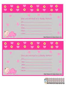 Venue Ideas For Baby Shower by Free Printable Baby Shower Invitations