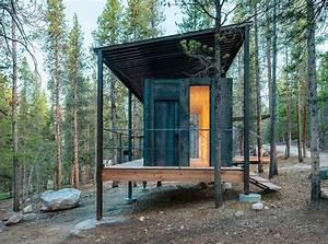 Micro Wooden Cabins in Colorado5 – Fubiz Media