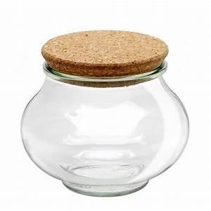 Pot En Verre Deco : pot en verre rond herm tique deco 1l avec couvercle en ~ Melissatoandfro.com Idées de Décoration