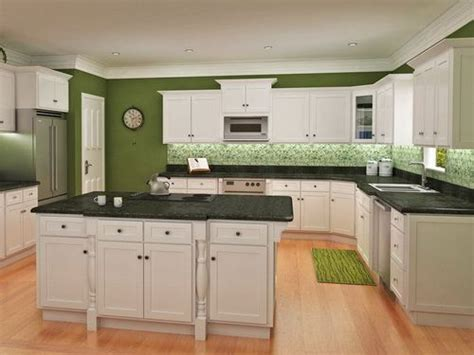 white kitchen with green walls olive green kitchen white cabinets cabinets matttroy 1836