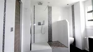 Carrelage Salle De Bain Blanc : deco salle de bain avantages du carrelage au sol ou mural ~ Melissatoandfro.com Idées de Décoration