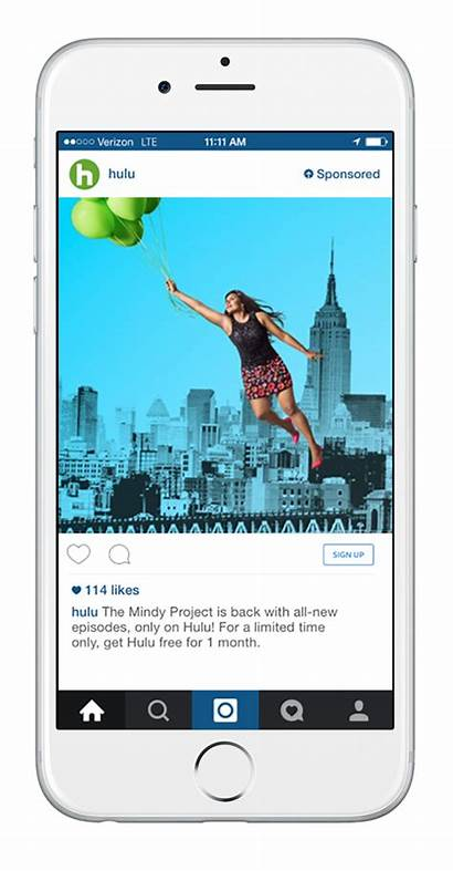 Instagram Ads Examples Ad Marketing Hulu Offer
