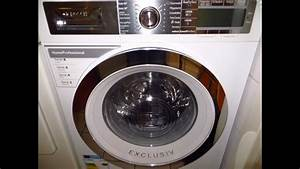 Bosch Exclusiv Waschmaschine : bosch exclusiv home professional way32893 cottons 60 youtube ~ Frokenaadalensverden.com Haus und Dekorationen