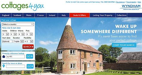 Cottage 4 You by Best Websites For Cottages In The Uk Daily Mail