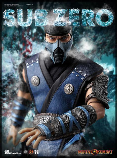 Pre Order World Box 16 Scale Mortal Kombat Sub Zero 12