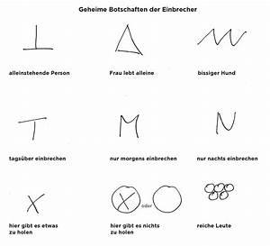 Einbrecher Symbole Bedeutung : gaunerzinken der bauherr ~ Buech-reservation.com Haus und Dekorationen