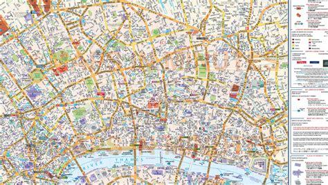 vinyl central london street map large size