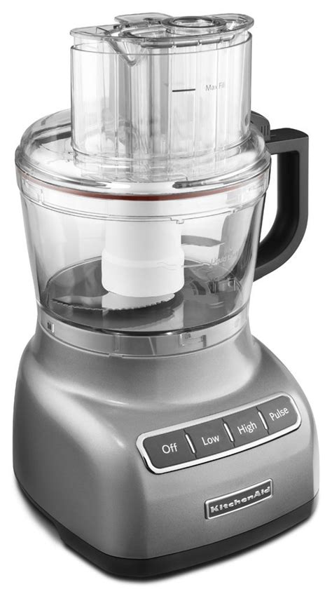 Kitchenaid Mixer Food Processor Review by Kitchenaid 9 Cup Exactslice Food Processor Review