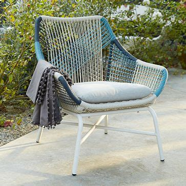 huron corded outdoor furniture  west elm  bonkers