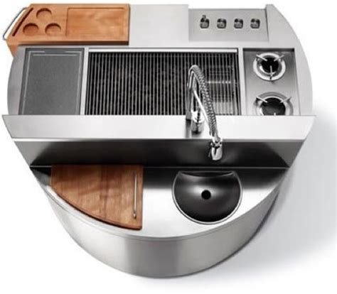 outdoor grill with sink just plain awesome all in one outdoor grill sink prep