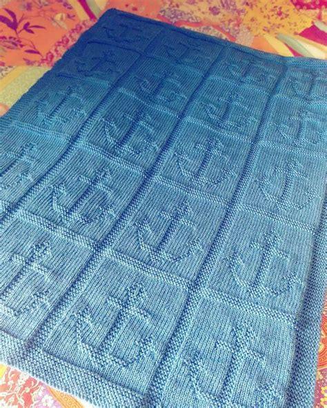 copertina a maglia copertina marinara lavorata a maglia filo unico