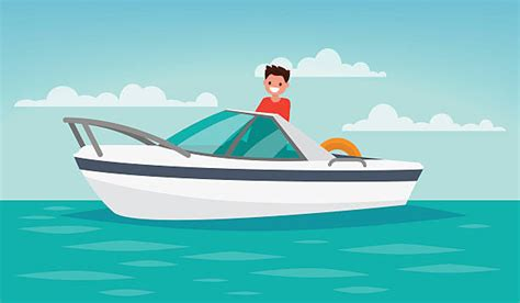 Boat On Lake Clipart by Royalty Free Lake Boat Clip Vector Images