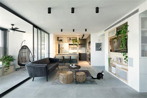 modern urban apartment  tel aviv studio perri interior