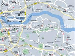 Greenwich London England Map