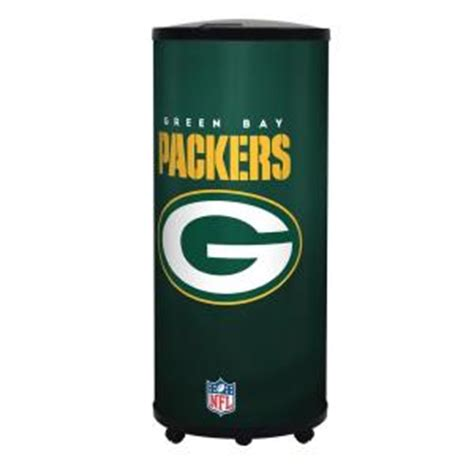 home depot green bay glaros nfl 22 qt green bay packers ice barrel cooler b17