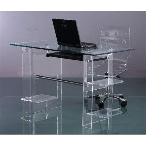 clear acrylic lap desk buy acrylic computer desk clear furniture computer desk