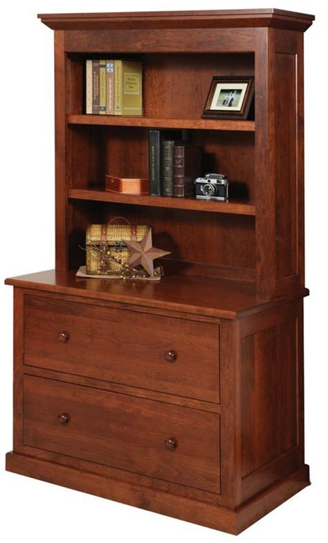 Bookshelf Hutch by Homestead Lateral File And Bookshelf Office Furniture