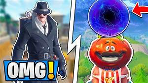 Fortnite What Is UNDER Tilted Towers Tomato Town