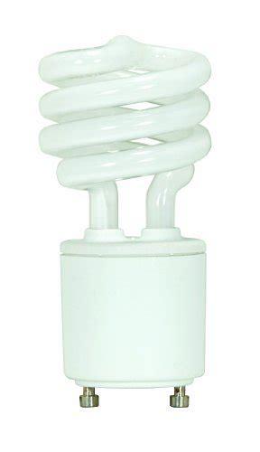 satco s8203 13 watt 60 watt 800 lumens mini spiral cfl