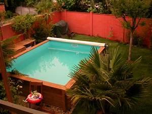construire une piscine hors sol en bois astuces bricolage With fabriquer une piscine en bois