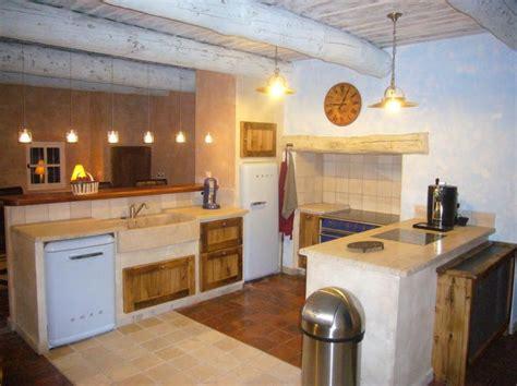 cuisines provencales modernes cuisine rustique salon de provence 13 fabricant de