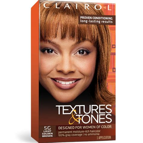 clairol hair colors clairol textures tones permanent hair color dye kit 1