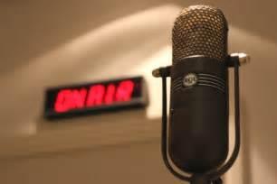 microphone and on air light abc news australian