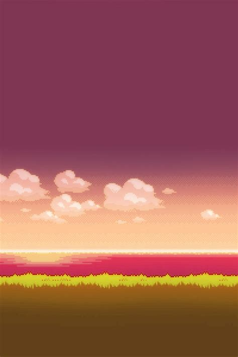 Aesthetic 8 Bit Wallpaper Iphone by Freeios7 Sky 8 Bit Parallax Hd Iphone Wallpaper
