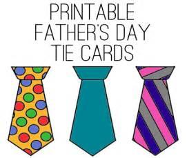 Printable Father's Day Card Ties