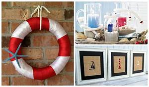 25, Amazing, Diy, Nautical, Decorations, For, Your, Home