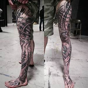 Biomechanical Tattoos Designs - Best Ideas for You