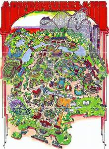 166 best images about Theme Park Maps... on Pinterest ...