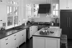 gray and white kitchen designs design ideas With kitchen colors with white cabinets with security system stickers