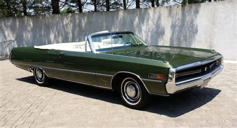 1970 Chrysler 300 Convertible For Sale by Hemmings Find Of The Day 1970 Chrysler 300 Convert
