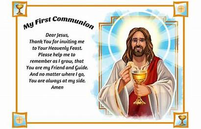 Prayer Alma Cristo Spanish Dear Jesus Communion