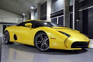 Lamborghini 5-95 Zagato Still Looks Ugly in Yellow