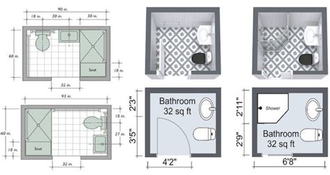 Small Bathroom Design Plans by Modest Dimensions Are Often Problem To The Designers