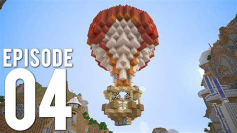 hermitcraft  episode  building  airship youtube