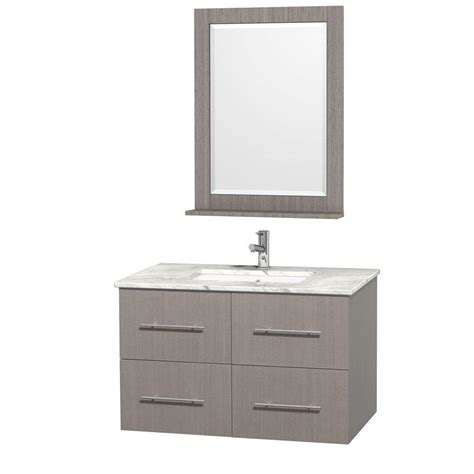 wyndham collection centra 36 in vanity in grey oak with