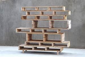 Bibliothèque Moderne Design : diy une biblioth que design avec des palettes floriane lemari ~ Teatrodelosmanantiales.com Idées de Décoration