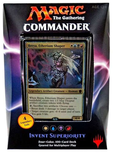 Mtg Sle Decks 2015 by Magic The Gathering Commander 2016 Invent Superiority Deck
