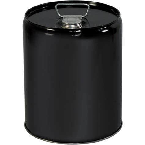 gallon closed head metal pail