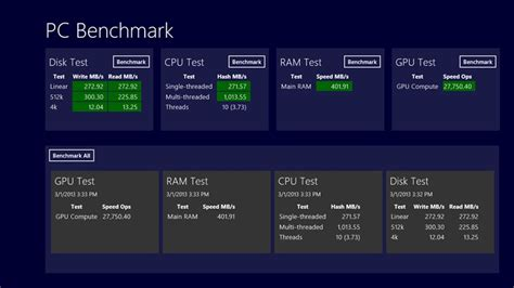 Top 5 Benchmark Software's For Windows 7, 81 Download