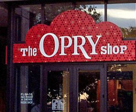 grand ole opry gift shop  nashville tn